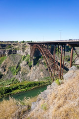 Perrine bridge over Snake river canyon, Twin falls, Idaho
