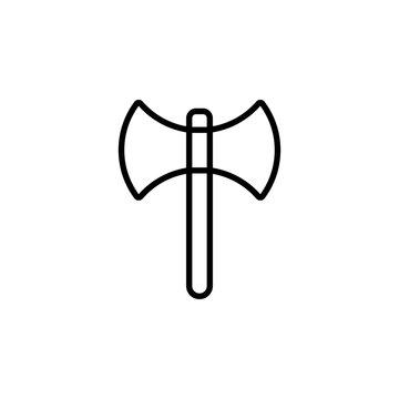 Axe icon vector. Axe vector design. sign design. flat style. Vector EPS 10