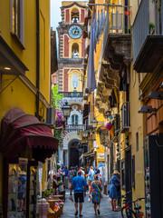 Italy, Campania, Sorrent, Bleu Village, Old town, alley
