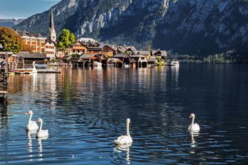 Hallstatt in Austria, Europe