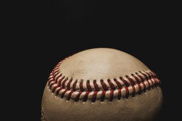 Dirty old baseball