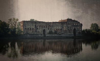 Nowy Dwór Mazowiecki, Poland - Modlin fortress Fototapete