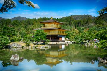 Kinkaku Buddhist Temple, Kyoto, japan