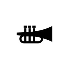 Bulge, trumpet Icon in trendy flat style isolated on white background. handphone symbol for your web site design, logo, app, UI. Vector illustration, EPS10. - Vector