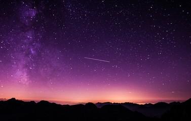Sternschnuppe Himmel Sternbild