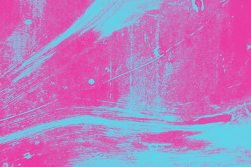 pink and blue paint abstract background texture with grunge brush strokes