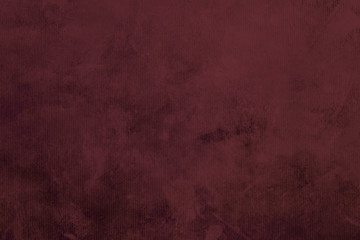 red grungy canvas background or texture