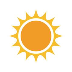 Vector sun logo