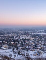Winterstadt Weitblick