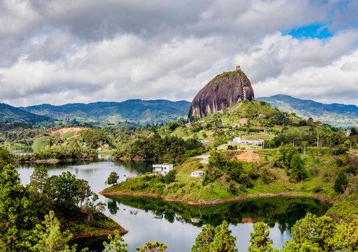 El Penon de Guatape (Rock of Guatape), Antioquia Department, Colombia