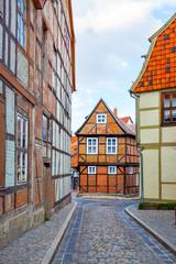 Wall Mural - Fachwerk houses in Quedlinburg