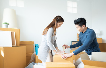 Couple are Moving house.