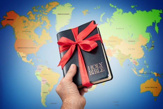 The gift of the Holy Bible to mankind