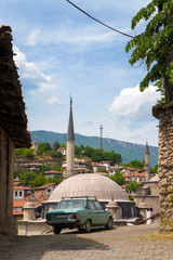 Safranbolu is a town and district of Karabük Province in Turkey. Safranbolu was added to the list of UNESCO World Heritage sites in 1994 due to its well-preserved Ottoman era houses and architecture.