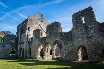 Netley Abbey, a ruined 13th century medieval monastery, near Southampton, Hampshire, England, UK