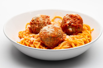 spagetthy and meatballs