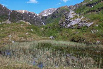 Mountain hike in the Godvassdalen valley