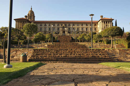 The Union Buildings, the official seat of the South African government, Pretoria, South Africa.