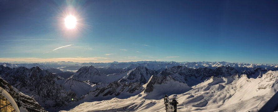 Panorama Zugspitze