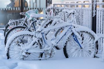 no bicycle season - Keine Fahrrad Saison