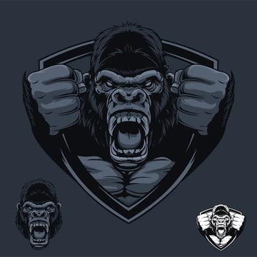 Gorilla Badge Logo