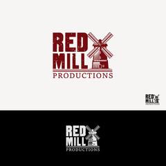 Windmill Retro Vintage Classic Logo