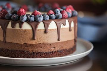 Cake dessert chocolate sweet delicious