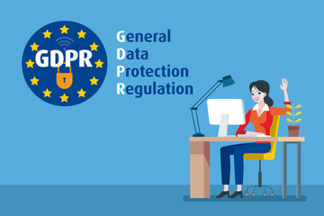 European Woman and GDPR