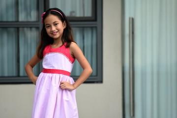 A Posing Filipina Girl