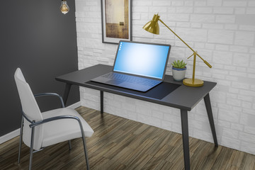 writing desk interior designer room