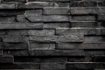 Black rectangle square tile background & wallpaper