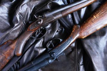 Old Hunting Shotgun