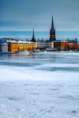In de dag Stockholm Stockholm Frozen Winter
