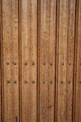 Wood texture of a door