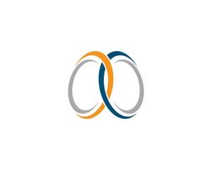 Corporate symbol illustration