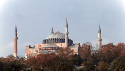 İstanbul Hagia Sophia Mosque - Opposite Angle