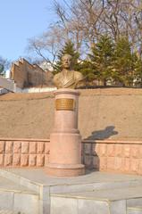 Vladivostok, Monument to Admiral of the Soviet Navy Nikolai Kuznetsov