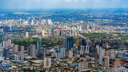 Skyscrapers at Makati, Manila, Philippines