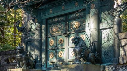 Inukimon Gate by Inner Shrine at Toshogu Shrine, Nikko, Japan. Wall mural