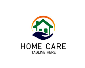 circle home care logo design inspiration