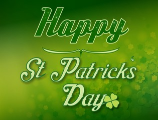 Happy Saint Patricks Day Illustration