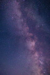 Night scene milky way background (Low Angle View Of Stars Against Star Field At Night)