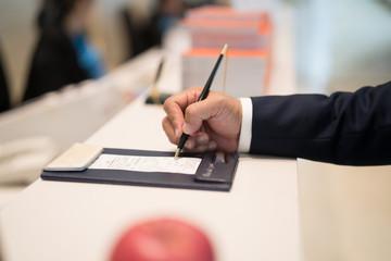 Signature hand
