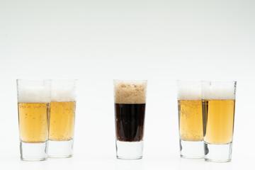 5 glasses of beer symbolize diversity