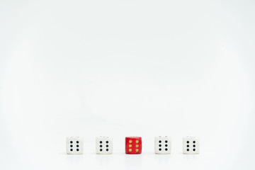 different cubes symbolize diversity
