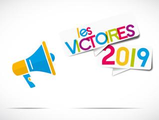 mégaphone coloré : les victoires 2019