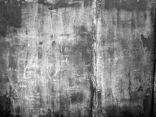 black grunge texture wall background with grain and dust