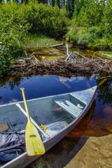 canoeon the lake
