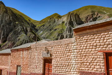 Historic architecture in Iruya, Argentina