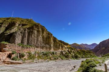 Landscape view of Iruya, Argentina